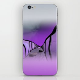 window curtain - the way is difficult -1- iPhone Skin