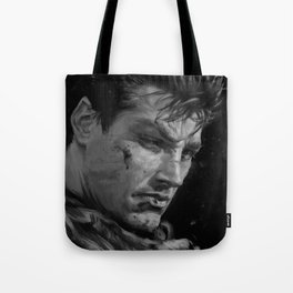 The Black Swordsman Tote Bag
