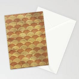 Sea shells pattern 1 Stationery Cards