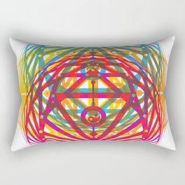 4 Corners of Abundance (wide) Rectangular Pillow