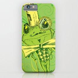 Je suis Monsieur Grenouille iPhone Case