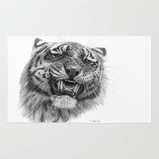 Tiger roar  G082 Rug