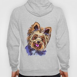 The cute smiley Yorkie love of my life! Hoody