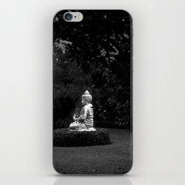 Buddha Statue iPhone Skin