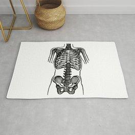 Bones. Rug