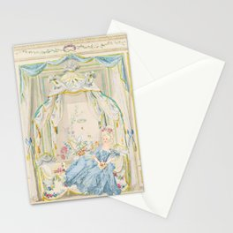 Marie Antoinette Petite Maison Stationery Cards