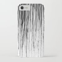 stripe iPhone & iPod Cases featuring Stripe by Jack Newbury