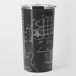 Guitar Patent Travel Mug