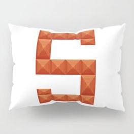 """Letter """"S"""" print in beautiful design Fashion Modern Style Pillow Sham"""