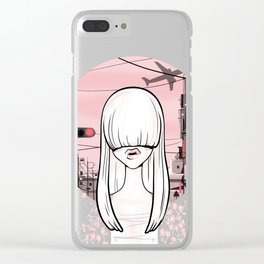 invisible girl Clear iPhone Case