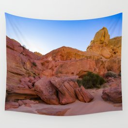 Colorful Sandstone, Valley of Fire - III Wall Tapestry