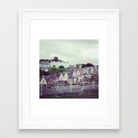 ireland Framed Art Prints featuring Ireland by Alyssa Leary