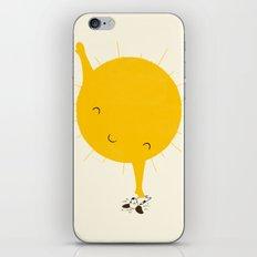 Belly Rub iPhone & iPod Skin