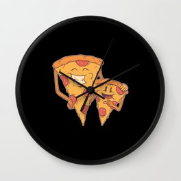 Pizza family Best Gift Wall Clock