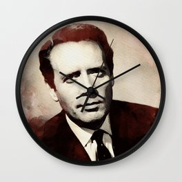 Patrick McGoohan Wall Clock