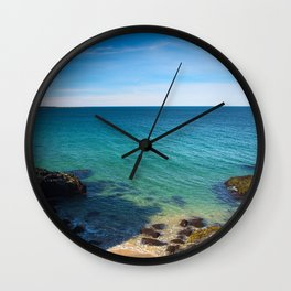 Skarðsvik Beach I Wall Clock