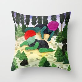 wood children Throw Pillow