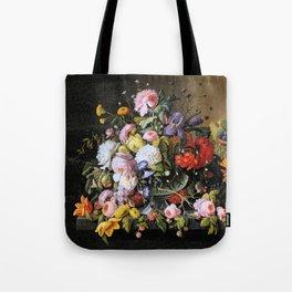 Vintage Varnish- Flowers&Fruit Tote Bag