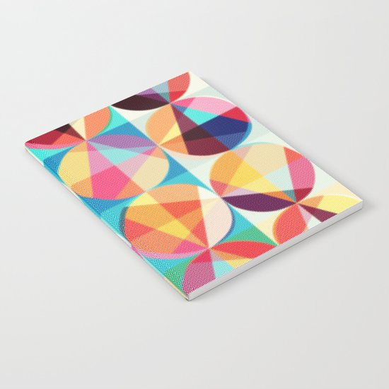 Circle pixelate Notebook