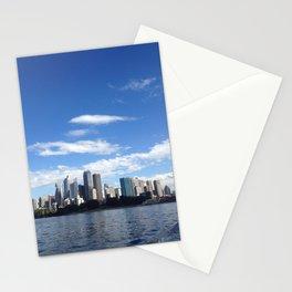 Sydney skyline Stationery Cards