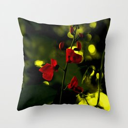 GRed Dream Throw Pillow