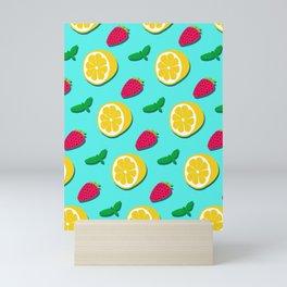 Fruit Party #society6 #decor #buyart Mini Art Print