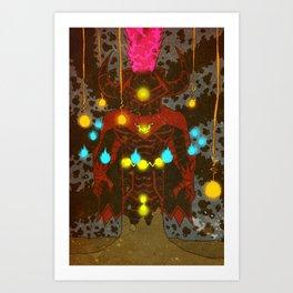 CELESTIAL ZERO (EXTRA COLOUR VARIANT) Art Print