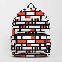 Linear Sequence Pattern Design Backpack