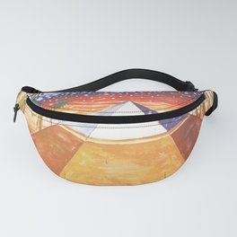 The Cydonia pyramid by the time there was life on Mars Fanny Pack