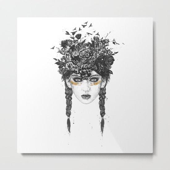 Summer Queen Metal Print
