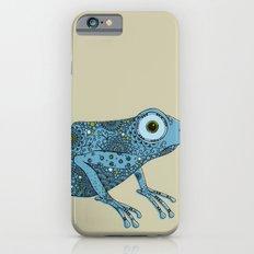 Little blue frog Slim Case iPhone 6s