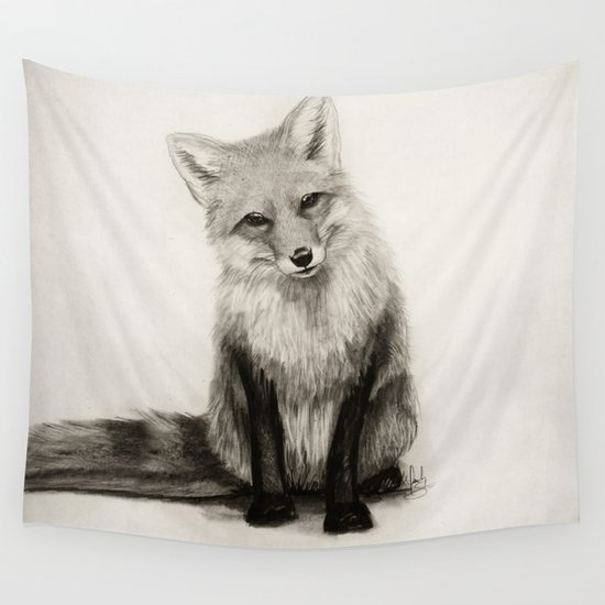Fox Say What?! Wall Tapestry