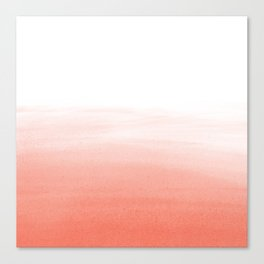 Blush Wash Canvas Print
