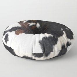 Cowhide Farmhouse Decor Floor Pillow