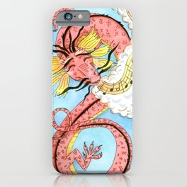 Dragon Song iPhone Case