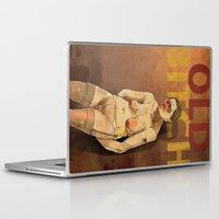bitch Laptop & iPad Skins featuring OLD BITCH by ErsanYagiz