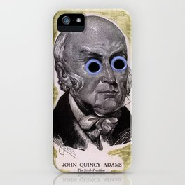 John Quincy Adams, the 6th President iPhone Case