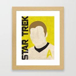 Star Trek Illustration -  Kirk Framed Art Print
