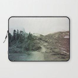 Northwest Mountain Hiking Trail Rocky Forest Rainbow Landscape Bellingham Washington Laptop Sleeve