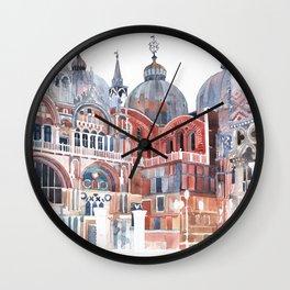 Basilica San Marco, Venezia Wall Clock