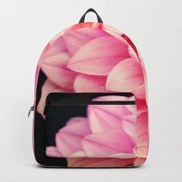 Sweet Pink Dahlia Backpack