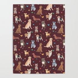 Dog LOVE Poster