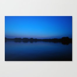 2006 - Blues After Sunset (High Res) Canvas Print