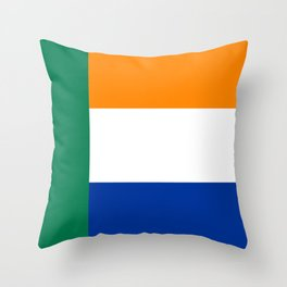 Afrikaner ethnic flag south africa country Throw Pillow