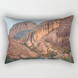 Sunset on Madagascar mountains Rectangular Pillow