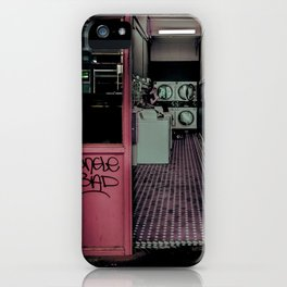 The Laundromat iPhone Case