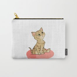 Spooky the Cat Carry-All Pouch