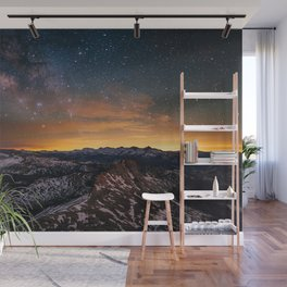 Nightscape Sunset Wall Mural