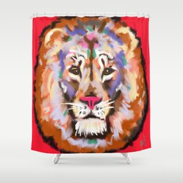 STAY STRONG AND CURIOUS Shower Curtain