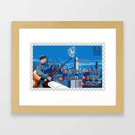 Going Postal Framed Art Print